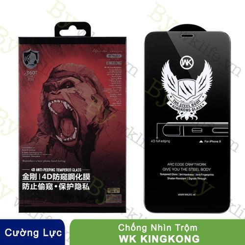 Cường Lực Chống Nhìn Trộm iPhone Xs Max Kingkong Anti Peeping
