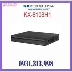 ĐẦU GHI HÌNH KBVISION H265+ KX-8108H1 8 kênh