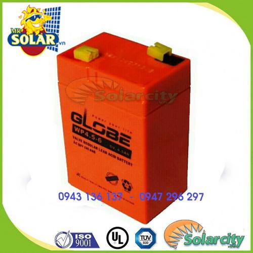 Ắc quy khô dùng cho đèn sạc, quạt sạc 6V 5A