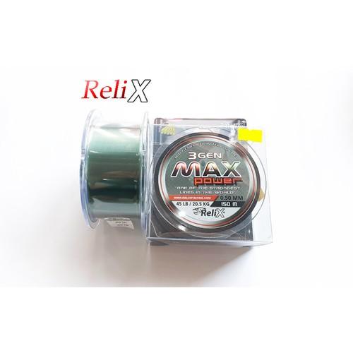 Dây cước 0.50mm Relix 3 gen Max 150 mét