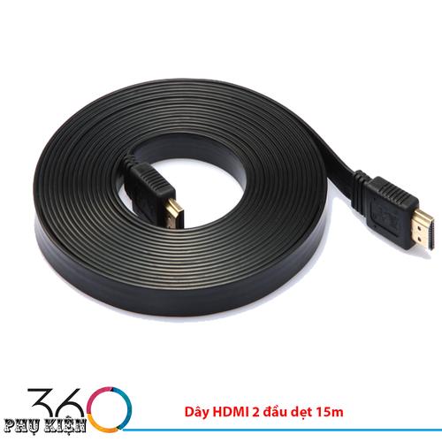 Dây HDMI 2 đầu dẹt 15m