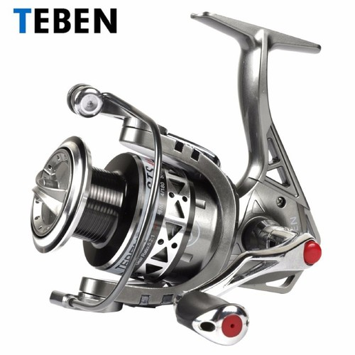 Máy câu cá Teben GTS 400 full kim loại chống nước mặn