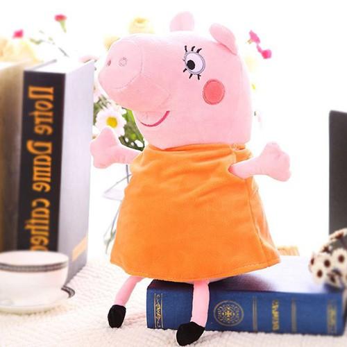 Gấu Bông Heo bông Peppa Pig-Mommy pig 30 cm