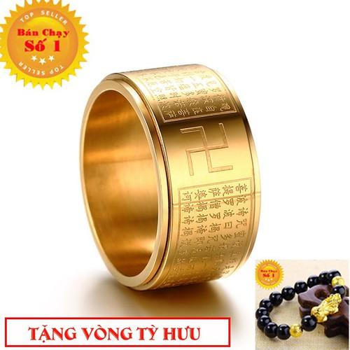 Nhẫn xoay thần chú BÁT NHÃ TÂM KINH khắc chữ VẠN vĩnh viễn không đen - Phong thủy titanium - 7059402 , 16983000 , 15_16983000 , 99000 , Nhan-xoay-than-chu-BAT-NHA-TAM-KINH-khac-chu-VAN-vinh-vien-khong-den-Phong-thuy-titanium-15_16983000 , sendo.vn , Nhẫn xoay thần chú BÁT NHÃ TÂM KINH khắc chữ VẠN vĩnh viễn không đen - Phong thủy titanium