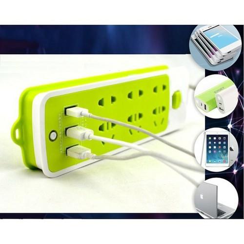 COMBO 5 Ổ CẮM ĐIỆN ĐA NĂNG 6 PHÍCH CẮM 3 CỔNG USB TUYỂN SỈ - 11413341 , 16980963 , 15_16980963 , 212000 , COMBO-5-O-CAM-DIEN-DA-NANG-6-PHICH-CAM-3-CONG-USB-TUYEN-SI-15_16980963 , sendo.vn , COMBO 5 Ổ CẮM ĐIỆN ĐA NĂNG 6 PHÍCH CẮM 3 CỔNG USB TUYỂN SỈ