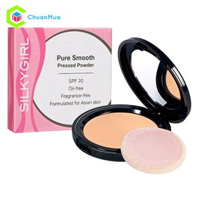 Phấn Phủ mịn da SILKYGIRL Pure Smooth Pressed Powder SPF 20 - MPA079-M0241