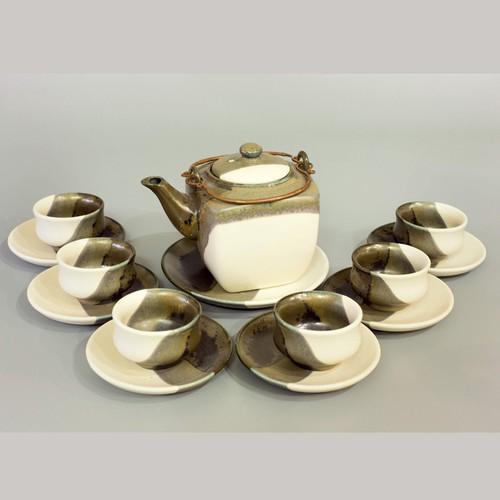 Bộ trà dáng vuông men hỏa biến 3 màu - 7060998 , 16983615 , 15_16983615 , 875000 , Bo-tra-dang-vuong-men-hoa-bien-3-mau-15_16983615 , sendo.vn , Bộ trà dáng vuông men hỏa biến 3 màu