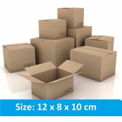 50 thùng carton 12x8x10cm