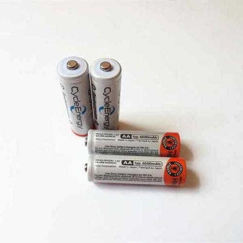 4 pin sạc AA Sony 4600mAH