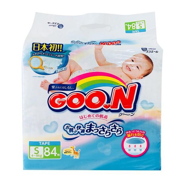 Tã dán Goo.n S84 (dành cho trẻ từ 4-8kg)