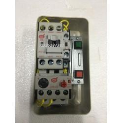 Bộ Khởi động từ hộp 2.1A dùng cho động cơ0.5- 1.5HP- Điện áp điều khiển 3P 380V