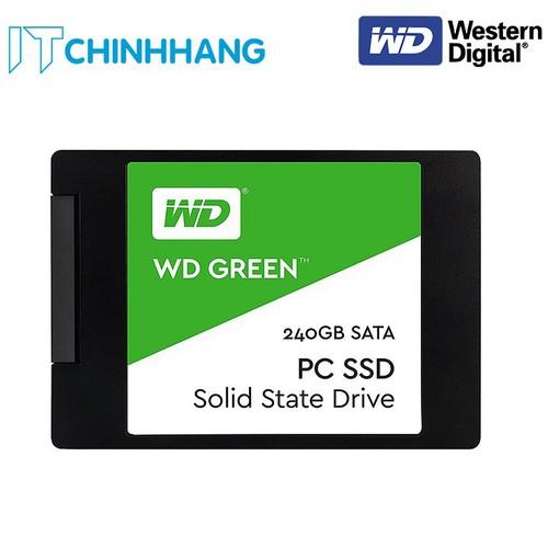 Ổ cứng SSD WD 240GB Green - Hàng Chính Hãng - 7047538 , 16976457 , 15_16976457 , 710000 , O-cung-SSD-WD-240GB-Green-Hang-Chinh-Hang-15_16976457 , sendo.vn , Ổ cứng SSD WD 240GB Green - Hàng Chính Hãng