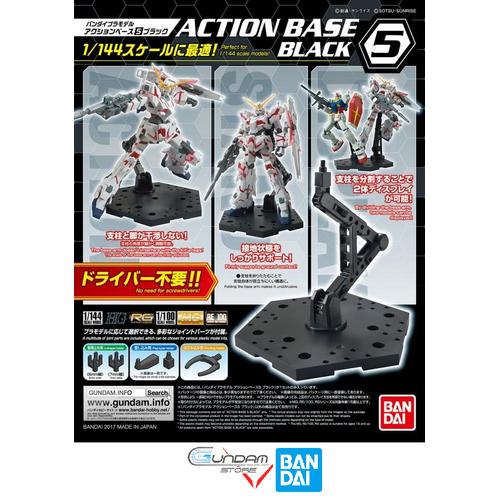 ĐẾ ACTION BASE BANDAI RG HG MG ACTION BASE 5 BLACK