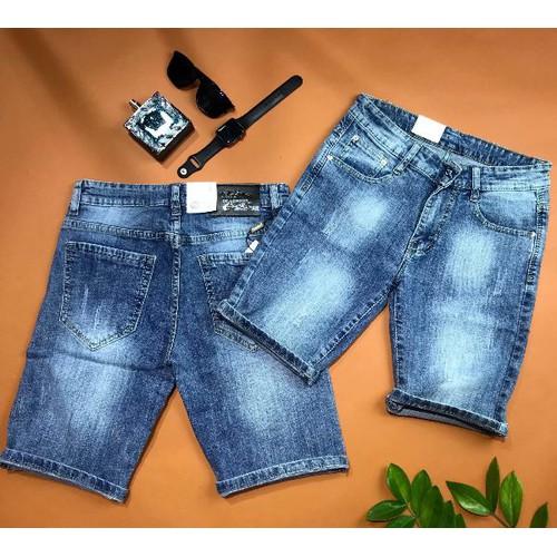 Quần short jeans nam thời trang