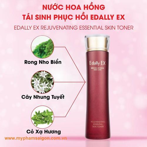 Nước hoa hồng tái sinh, phục hồi Edally - Rejuvenating Essential Skin Toner - 150ml