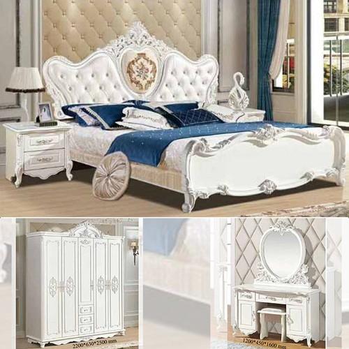 Bộ giường ngủ tân cổ điển nhập khẩu PH-Latina cao cấp - 7048086 , 16976720 , 15_16976720 , 50000000 , Bo-giuong-ngu-tan-co-dien-nhap-khau-PH-Latina-cao-cap-15_16976720 , sendo.vn , Bộ giường ngủ tân cổ điển nhập khẩu PH-Latina cao cấp