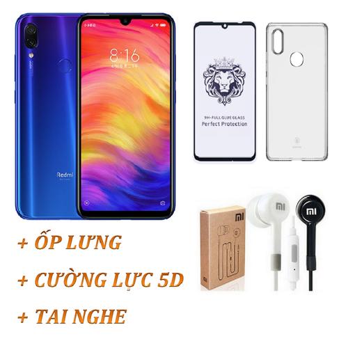 Xiaomi Redmi Note 7 Ram 4GB 64GB Xanh + Ốp lưng + Cường lực  Full màn + Tai nghe - Hàng nhập khẩu - 7057241 , 16981701 , 15_16981701 , 4395000 , Xiaomi-Redmi-Note-7-Ram-4GB-64GB-Xanh-Op-lung-Cuong-luc-Full-man-Tai-nghe-Hang-nhap-khau-15_16981701 , sendo.vn , Xiaomi Redmi Note 7 Ram 4GB 64GB Xanh + Ốp lưng + Cường lực  Full màn + Tai nghe - Hàng nhậ