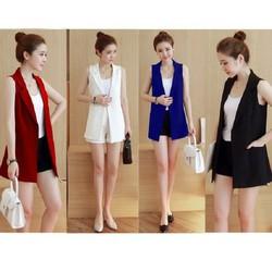 Sét áo vest nữ - Sét vest nữ cao cấp - Sét bộ công sở nữ cao cấp - Sét áo vest nữ quần short