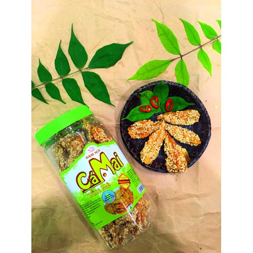 Cá mai tẩm mè ăn liền 150g Đầm Sen Đặc sản Phan Thiết - 7054649 , 16979957 , 15_16979957 , 50000 , Ca-mai-tam-me-an-lien-150g-Dam-Sen-Dac-san-Phan-Thiet-15_16979957 , sendo.vn , Cá mai tẩm mè ăn liền 150g Đầm Sen Đặc sản Phan Thiết