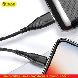 Cáp sạc Micro USB Titan CM11 - Bảo hành 12 tháng