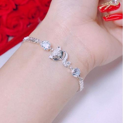 Lắc tay bằng bạc ta mặt hồ ly tuyệt đẹp 140k - 4618225 , 16991474 , 15_16991474 , 180000 , Lac-tay-bang-bac-ta-mat-ho-ly-tuyet-dep-140k-15_16991474 , sendo.vn , Lắc tay bằng bạc ta mặt hồ ly tuyệt đẹp 140k