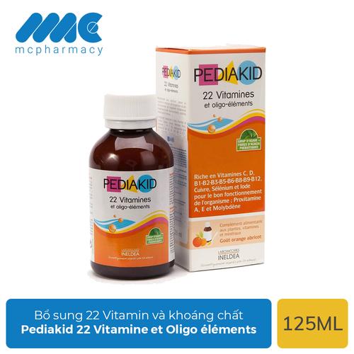 Siro Pediakid 22 Vitamine et Oligo éléments bổ sung 22 Vitamin và khoáng chất cho bé - Chai 125ml - 7048006 , 16976655 , 15_16976655 , 315000 , Siro-Pediakid-22-Vitamine-et-Oligo-elements-bo-sung-22-Vitamin-va-khoang-chat-cho-be-Chai-125ml-15_16976655 , sendo.vn , Siro Pediakid 22 Vitamine et Oligo éléments bổ sung 22 Vitamin và khoáng chất cho bé