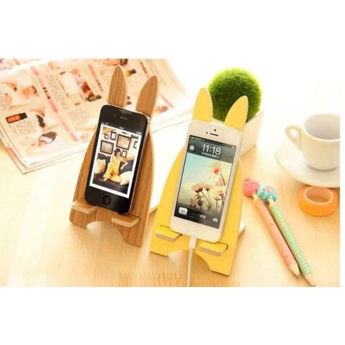 Combo 2 Giá đỡ điện thoại bằng gỗ