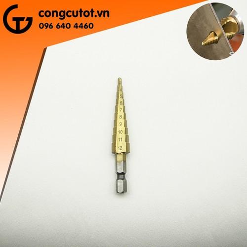 Mũi khoan bước 3-12mm CL