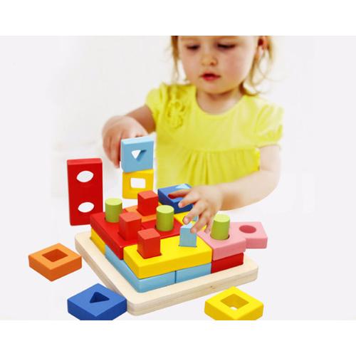 Đồ chơi lắp ráp bằng gỗ kích thích sự thông minh cho bé - Home and Garden - 7072164 , 16989047 , 15_16989047 , 220000 , Do-choi-lap-rap-bang-go-kich-thich-su-thong-minh-cho-be-Home-and-Garden-15_16989047 , sendo.vn , Đồ chơi lắp ráp bằng gỗ kích thích sự thông minh cho bé - Home and Garden