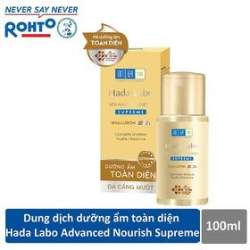 Dung dịch dưỡng ẩm toàn diện Hada Labo Advanced Nourish Supreme Hyaluron Lotion 100ml - RMV-HDLB-AN-S-L
