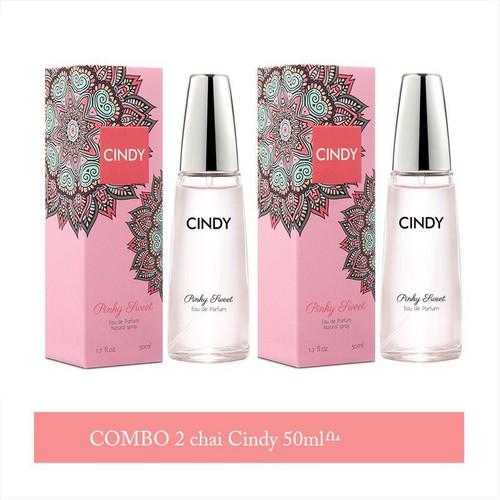 Combo 2 Nước Hoa Cindy Pinky Sweet 50ML 04