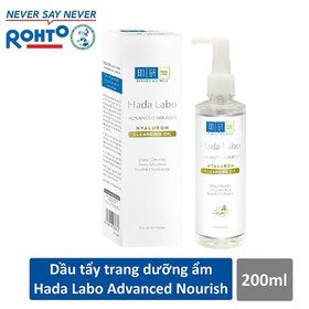 Dầu tẩy trang Hada Labo Advanced Nourish Hyaluron Cleansing Oil 200ml - RMV-HDLB-AN-CO