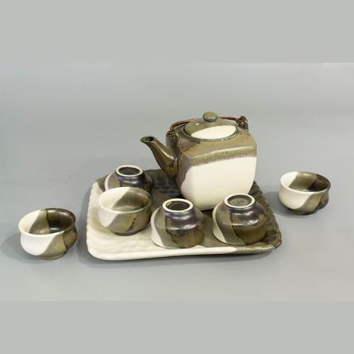 Bộ trà dáng vuông men hỏa biến 3 màu – khay vuông vặn - 7060035 , 16983050 , 15_16983050 , 1000000 , Bo-tra-dang-vuong-men-hoa-bien-3-mau-khay-vuong-van-15_16983050 , sendo.vn , Bộ trà dáng vuông men hỏa biến 3 màu – khay vuông vặn