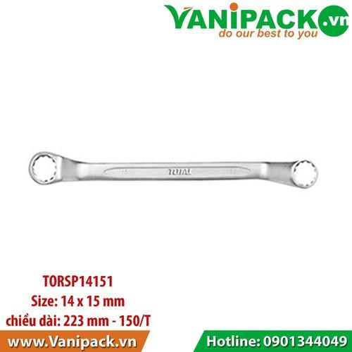 Cờ lê 2 vòng 14 x 15mm Total TORSP14151