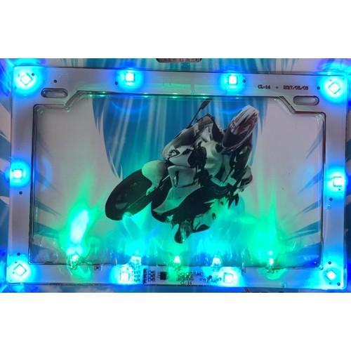 Pat biển số đèn led nháy cho xe điện & xe máy