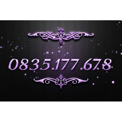 Sim trả trước 0835 177 678