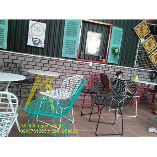 Ghế sắt cafe cao cấp giá rẻ
