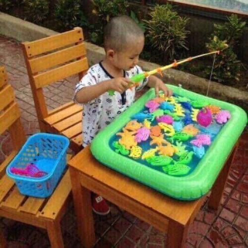 Bộ đồ chơi câu cá bể phao 2 cần 30-50 PCS cho bé - 4620459 , 17011195 , 15_17011195 , 99000 , Bo-do-choi-cau-ca-be-phao-2-can-30-50-PCS-cho-be-15_17011195 , sendo.vn , Bộ đồ chơi câu cá bể phao 2 cần 30-50 PCS cho bé