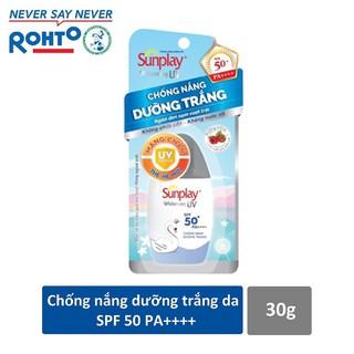 Sữa chống nắng dưỡng da trắng đẹp Sunplay Whitening UV SPF 50+, PA++++ 30g