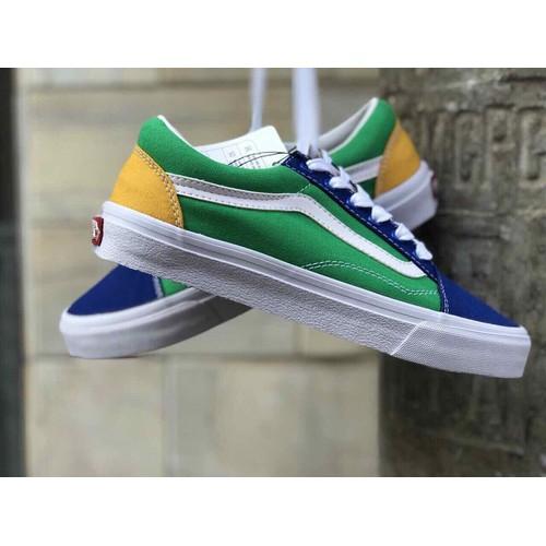 Giày thể thao Old Skool xanh lá