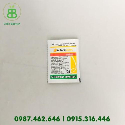 Thuốc trừ sâu – rệp Actara 25WC 1G