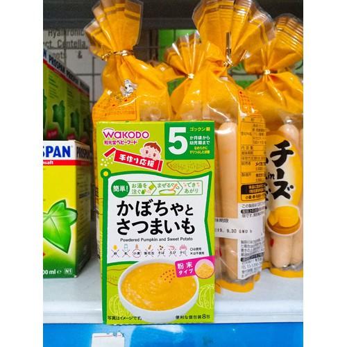 Bột ăn dặm wakodo Nhật bản 5th vị khoai tây bí ngô - 7091010 , 16997936 , 15_16997936 , 69000 , Bot-an-dam-wakodo-Nhat-ban-5th-vi-khoai-tay-bi-ngo-15_16997936 , sendo.vn , Bột ăn dặm wakodo Nhật bản 5th vị khoai tây bí ngô