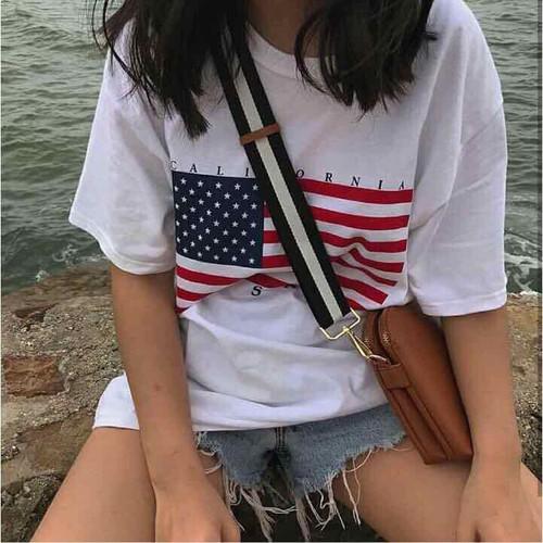 Áo phông cờ Mỹ
