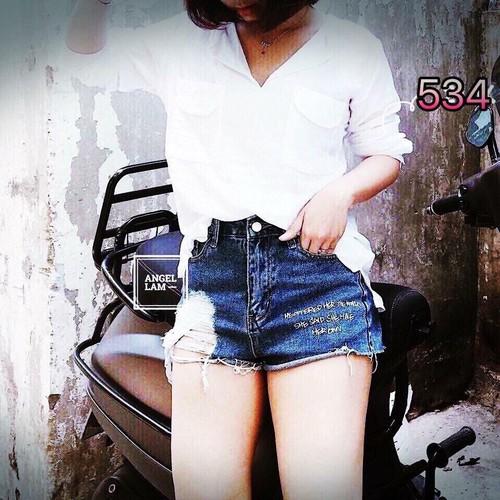 Quần short jean nữ gợi cảm trẻ trung - 7095566 , 17001698 , 15_17001698 , 95000 , Quan-short-jean-nu-goi-cam-tre-trung-15_17001698 , sendo.vn , Quần short jean nữ gợi cảm trẻ trung