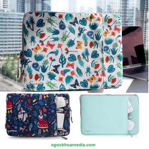 Túi Chống Sốc TOMTOC USA 360° Bảo Vệ Cho Laptop, Surface, Macbook Pro 13.3