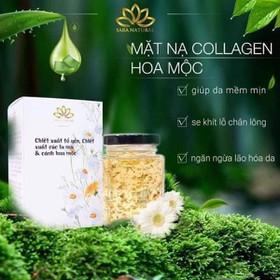 Mặt nạ Yến tươi Collagen hoa mộc - Ms75