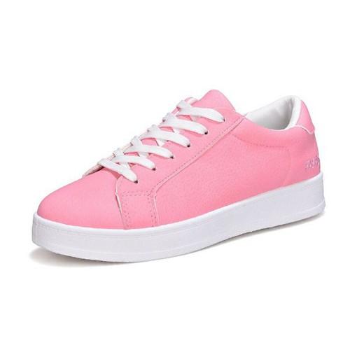 Giày sneaker nữ mầu hồng