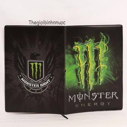 Vỏ Bọc Hộ Chiếu Passport Cover Monster V51