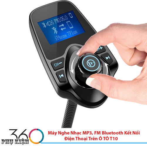 Máy Nghe Nhạc MP3, FM Bluetooth Kết Nối Điện Thoại Trên Ô TÔ T10 - 7098084 , 17003630 , 15_17003630 , 629000 , May-Nghe-Nhac-MP3-FM-Bluetooth-Ket-Noi-Dien-Thoai-Tren-O-TO-T10-15_17003630 , sendo.vn , Máy Nghe Nhạc MP3, FM Bluetooth Kết Nối Điện Thoại Trên Ô TÔ T10