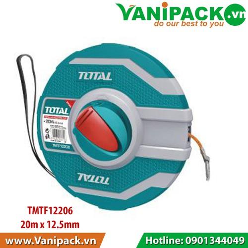 Thước dây sợi thủy tinh 20m x 12.5mm Total TMTF12206